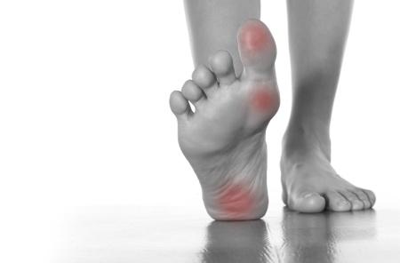Female feet problems